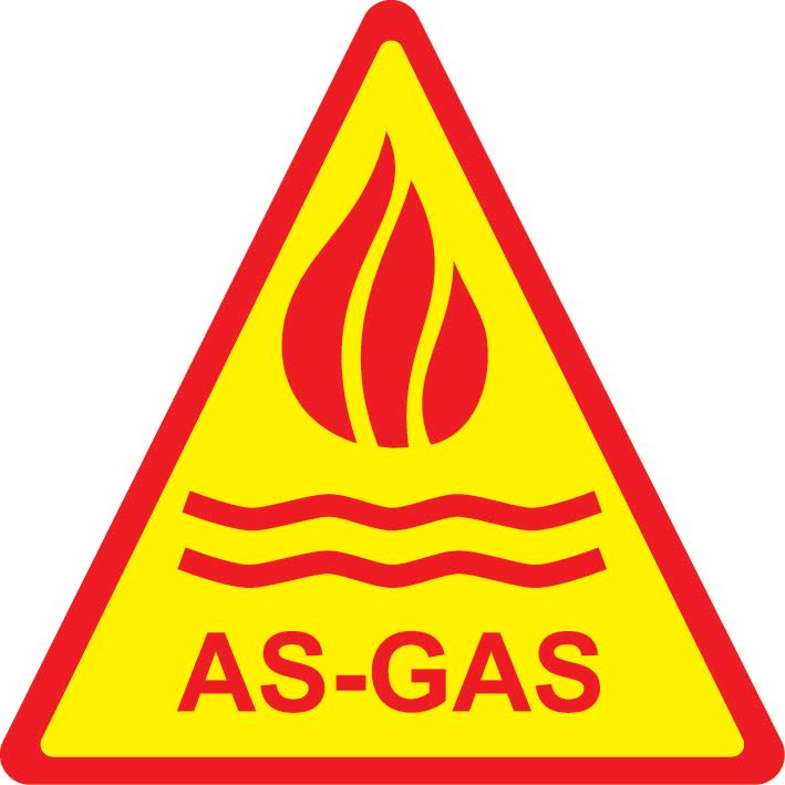 AS GAS logo